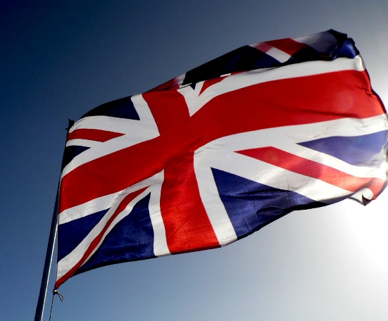The flag of British Empire