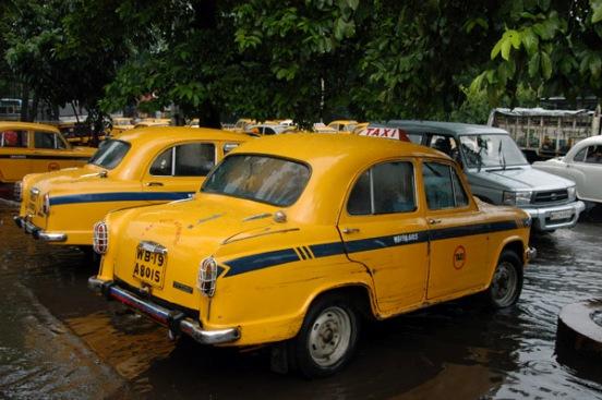 The Calcutta's taxis
