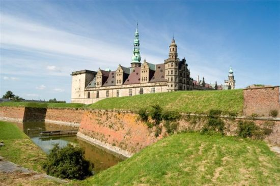 A carateristic castle in Denmark