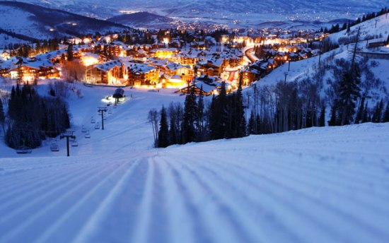 Deer Valley at Night
