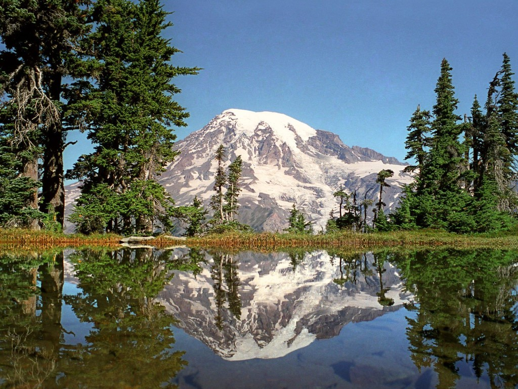 Mount Rainier National Park, Washington State