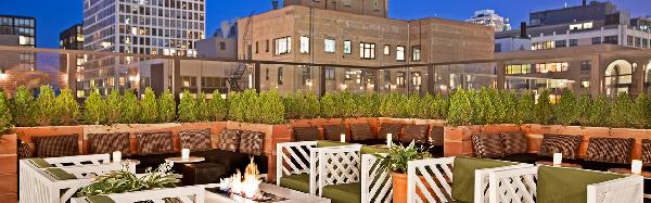 big city hotel rooftop bars in the us. Black Bedroom Furniture Sets. Home Design Ideas