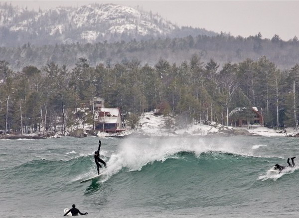 great lakes surfing