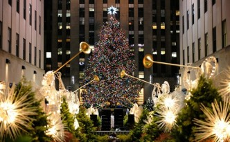 Image: The Rockefeller Center Christmas Tree is