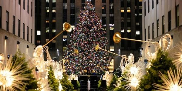 Image: The Rockefeller Center Christmas Tree is