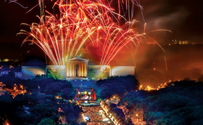 philadelphia July 4th
