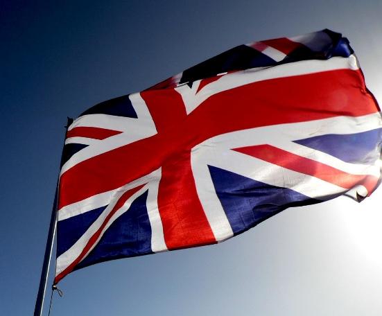 The flag of British Empire