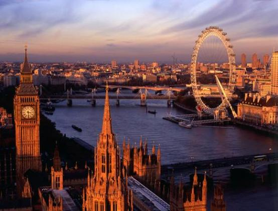The best of London at sunset